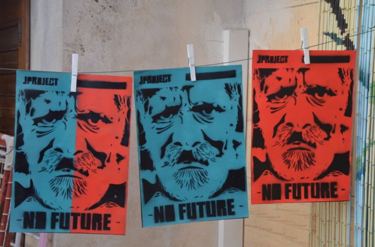 new print archive  #stencil #jprojectlab #nofuture