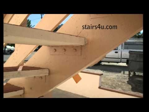 Best Four Methods For Attaching Wood Treads To Stair Stringers 400 x 300