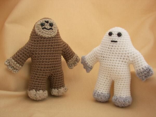 Yeti & Bigfoot Amigurumi Pattern pattern on Craftsy.com