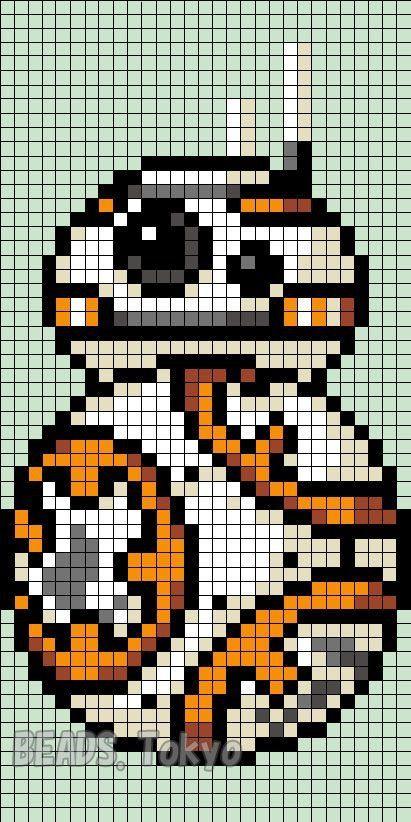 BB-8 pixel art