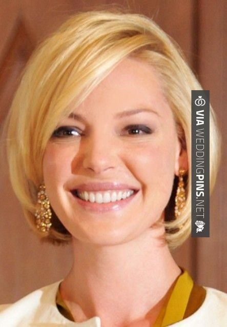 Brilliant - Round Face Hairstyles 2015 Short Bob Hairstyle for Round Face Shapes - Cute Short Haircuts 2014. Jennifer I was thinking maybe this for you. We could keep it a little longer if you want but I think you could so rock this.   CHECK OUT THESE OTHER FANTASTIC PHOTOS OF NEW Round Face Hairstyles 2015 OVER AT WEDDINGPINS.NET   #roundfacehairstyles2015 #roundfacehairstyles #roundhairstyles #mediumhair #weddinghairstyles #weddinghair #hair #stylesforlonghair #hairstyles #