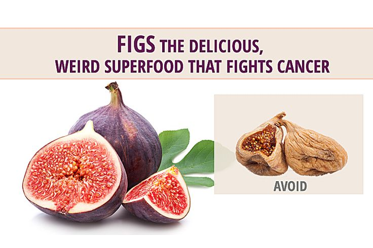 Figs! They're not the most popular fruit, but they have the distinction of being one of the healthiest of all fruits. Plus, according to recent research, figs also have the wonderful advantage of having specific anti-cancer properties.  Take a look at this article for more information!