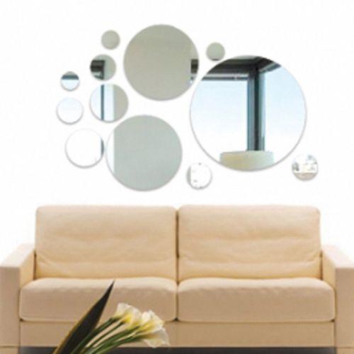 Espelho Decorativo Círculos Diversos - Submarino.com
