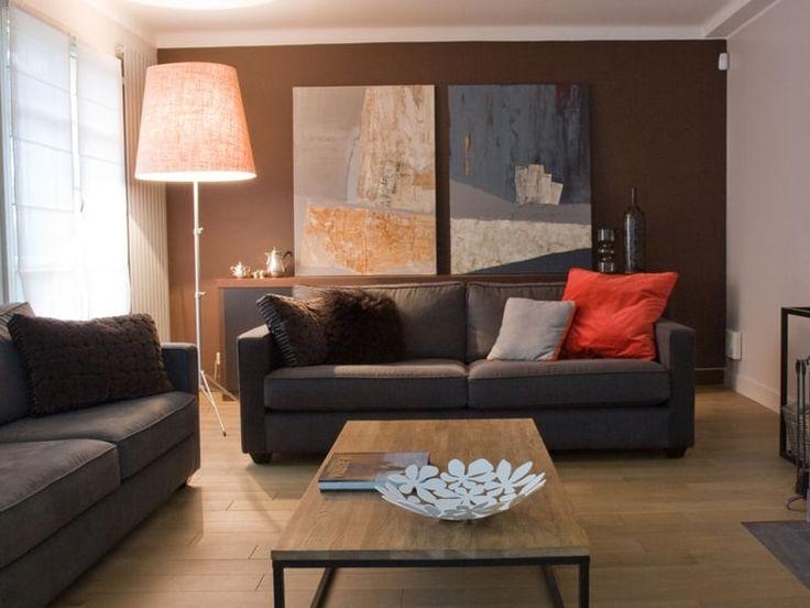 Best 20 salon couleur taupe ideas on pinterest - Parquet couleur taupe ...