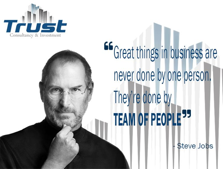 """Great things in business are never done by one person. They're done by  TEAM OF PEOPLE"" #trust #ci #trustci #consultancy #and #investment #iso #audit #marketing #feasibility #study #feasibilitystudy #hr #tax #risksolutions #risk #solutions #advisory #business #one #person #team #peopple  www.trust-ci.com"