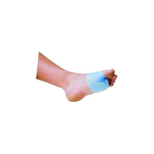 PediFix Sesamoid Relief Sleeve Small Left. Please Note Photo May Not Represent Actual Item. 2333146 Sleeve Sesamoid Releif Small Left sold indivdually sold as Individually Pt# 6003-S/L by Pedifix, Inc. Helps relieve pain and limit pressure & shock underneath the big toe joint (first metatarsal head). Washable and reusable. 1 sleeve/pkg. Use Title Only. A lightweight lycra foorefoot binder with a soft foam ball-of-foot pad with sesamoid relief aperture. Measure circumference around...