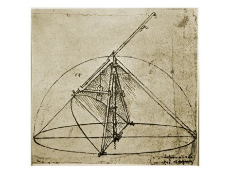 Measuring Instruments Giclee Print