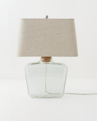 Apothecary table lamp garnet hill 24x17x17 150 watt bulb