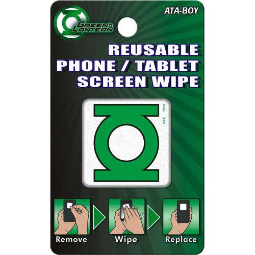 Green Lantern Reusable Phone/Tablet Screen Wipe