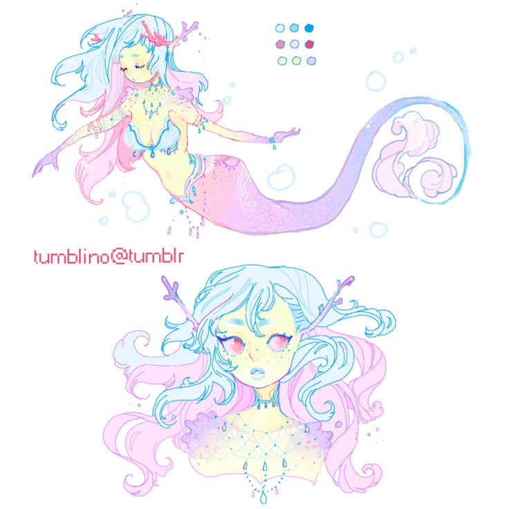 adopt for sale: Coral Mermaid (CLOSED) by Costly on DeviantArt