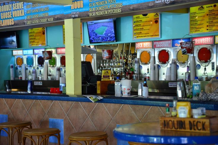 Daiquiri Deck in Siesta Key Florida- Great 2-for-1 Happy Hour!Hmmm....may have to check this out!