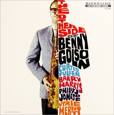 Paul Bacon, The Other Side of Benny Golson, 1958 ♡