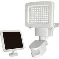 Sunforce LED Solar Motion Light — 900 Lumens, 80 LEDs