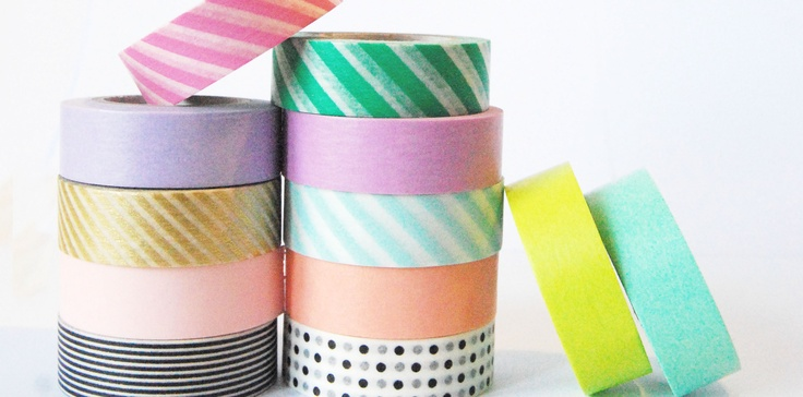 Just a few of our MY Masking Tapes at melkstore!