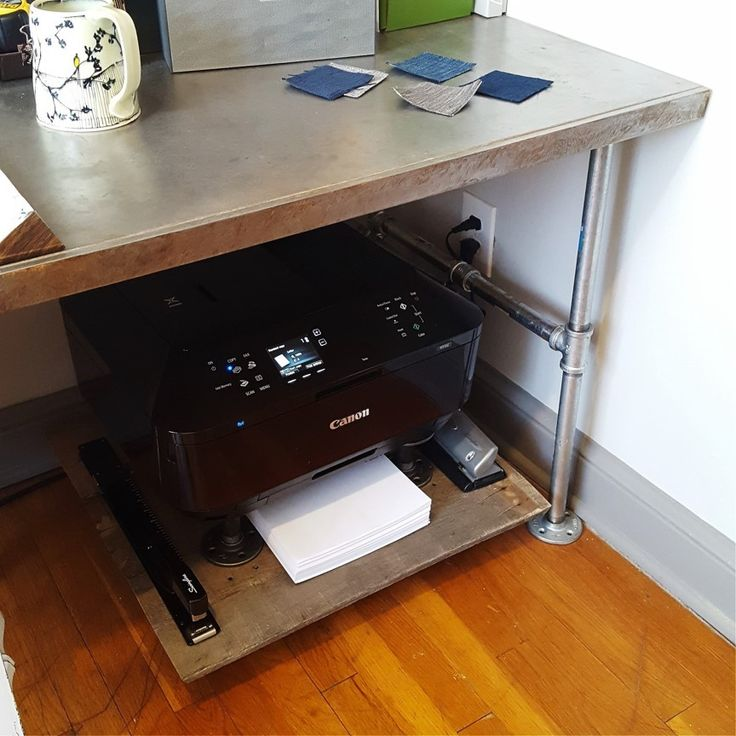 Ingenious Repurposing Unusual Kitchen Islands And Printers: 25+ Best Ideas About Printer Cart On Pinterest