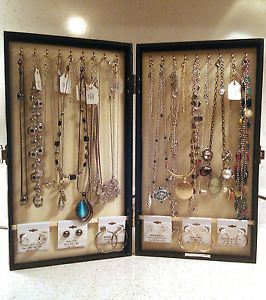 Details About Portable Vendor Jewelry Display Cases Travel