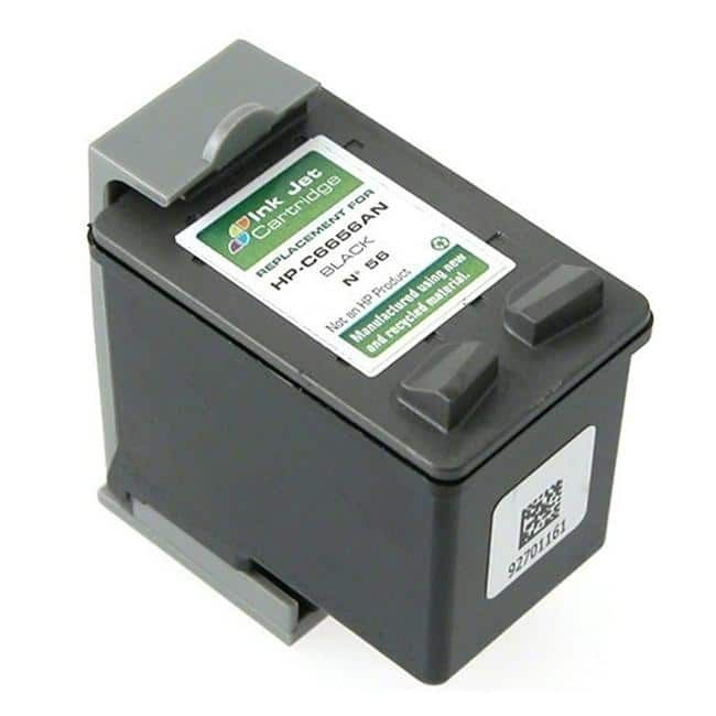 Refurbished Insten Remanufactured Ink Cartridge Replacement for HP C6656A/ 56 #210273