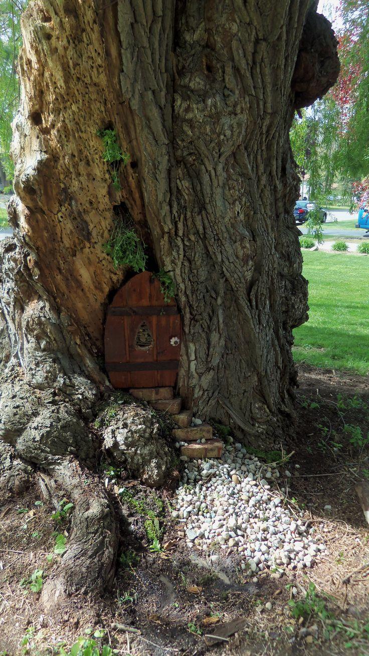 504 best fairy garden ideas images on pinterest for Gnome doors for trees