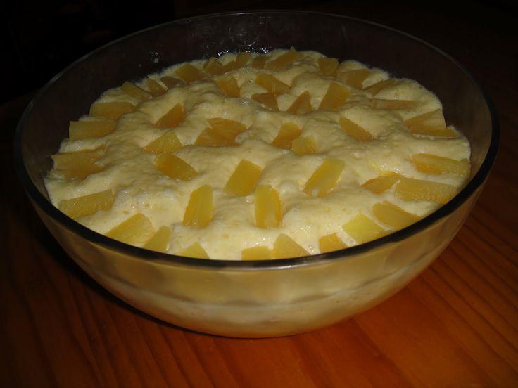 Mousse de ananás Ingredientes 6 ovos 1 lata de leite ...