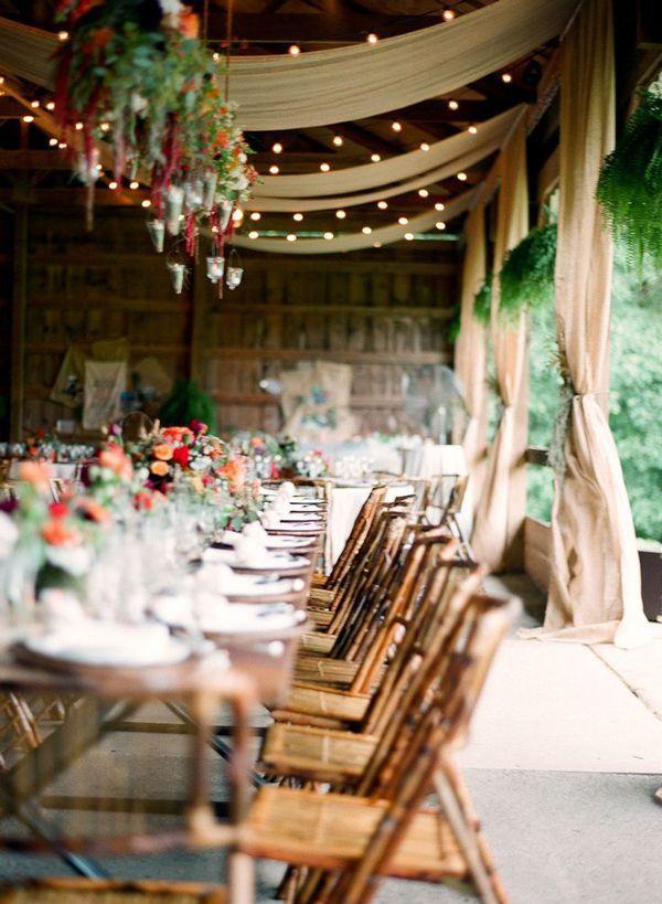 Italy Venu Villa Romantic Shabby Chic Rustic Italian Wedding Inspiration 3 Table Decoration