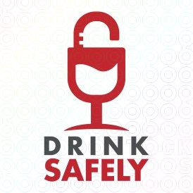 Exclusive Customizable Logo For Sale: Drink Safely | StockLogos.com https://stocklogos.com/logo/drink-safely