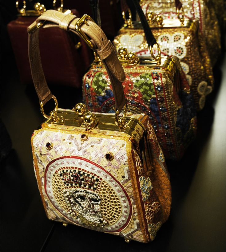 Tuba Edman: Dolce & Gabbana Fall Winter 2014: The bags....