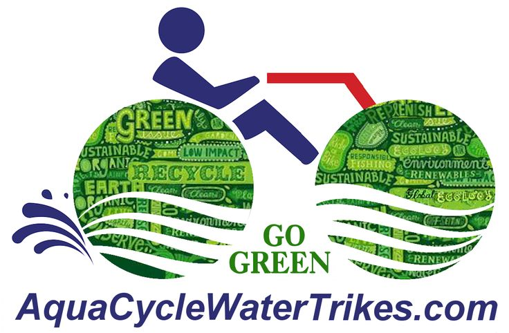 Aqua-Cycle Water Trikes are ECO friendly.  Our manufacturing processes meet the three-fold criteria of biodegradability, zero (net) environmental impact and full scope reuse/renewability. We have long been concerned with protecting our customers and the ecosystems in which our customers enjoy our products. This policy is based upon our continuing commitment to responsible, earth friendly business practices.