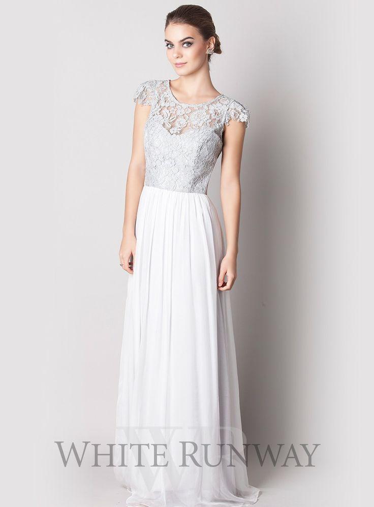 Full length dress by designer tania olsen a beautiful lace dress