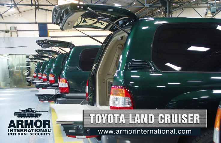 Toyota LC200 | Armor International ::: Blindajes de máximo desempeño