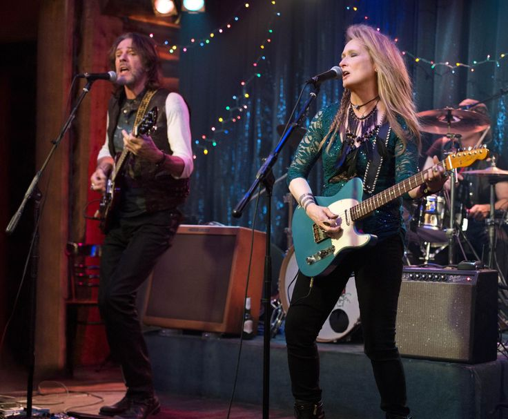 """Meryl Streep and Rick Springfield in """"Ricki and the Flash,"""" directed by Jonathan Demme."""