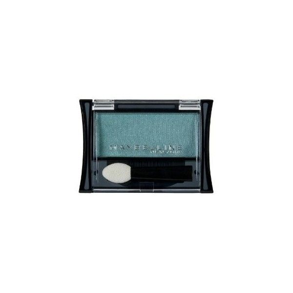 Maybelline Expert Wear Eyeshadow Single Emerald ❤ liked on Polyvore featuring beauty products