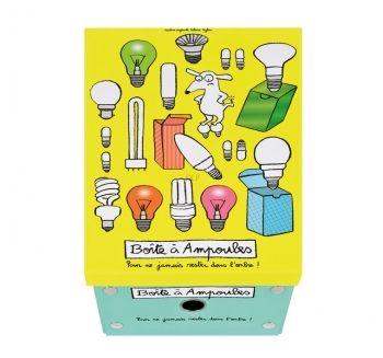 Boîte à ampoules