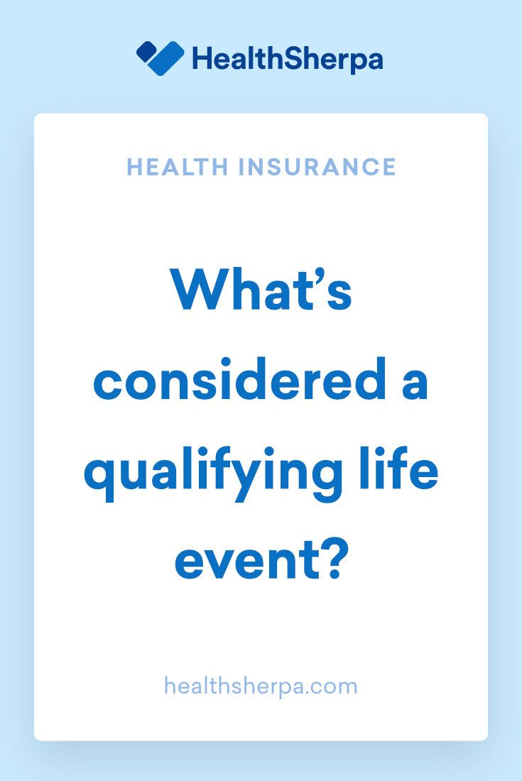 What S Considered A Qualifying Life Event You Need Health