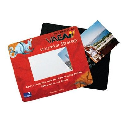 Photo Frame Customised Mouse Mat Min 250 - Promotional Giveaways - Promotional Mouse Pads - HCL-MM1091A - Best Value Promotional items including Promotional Merchandise, Printed T shirts, Promotional Mugs, Promotional Clothing and Corporate Gifts from PROMOSXCHAGE - Melbourne, Sydney, Brisbane - Call 1800 PROMOS (776 667)