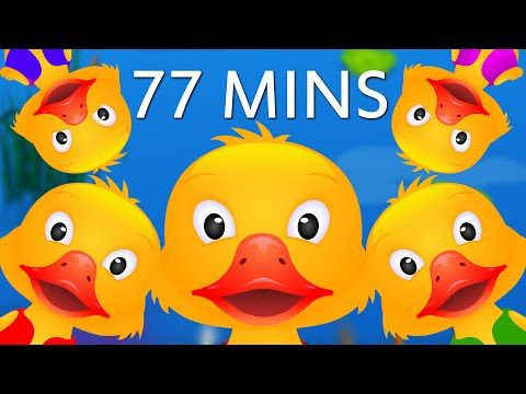 Five Little Ducks and Many More Numbers Songs   Number Nursery Rhymes Collection by ChuChu TV - YouTube