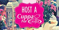 HOST A CUPPA FOR CANSA! CANSA's theme for 2014 is 'Holistic Care and Support' to those affected by cancer, with the focus on CANSA's Tough Living with Cancer (TLC) Programme. #LatestNews #Makingadifference #Youcantoo