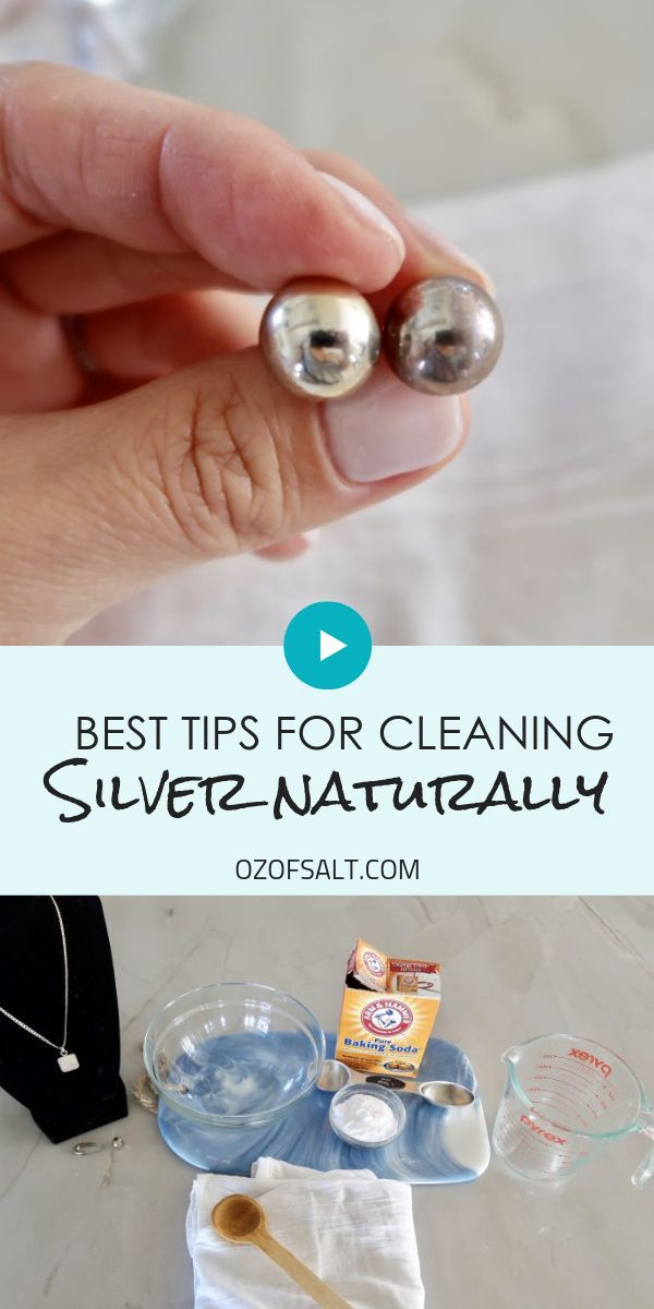 This Easy Homemade Cleaner Will Make Your Silver Like New Cleaning Silver Jewelry Cleaning Jewelry Homemade Jewelry Cleaner