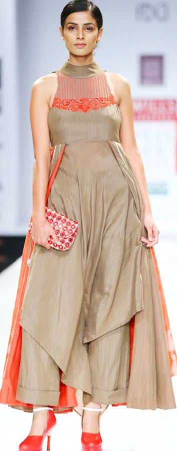 "Pair it with our ""Precious Ornament"" Collection! WIFW SS 15 Day 2 - Virtues by Viral, Ashish & Vikrant"