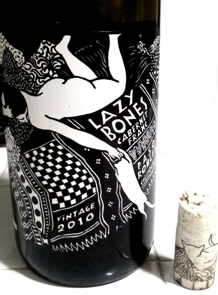 Wine Wednesday Lazybones Vino. Love this an old fav for all our wine loving packaging peeps PD