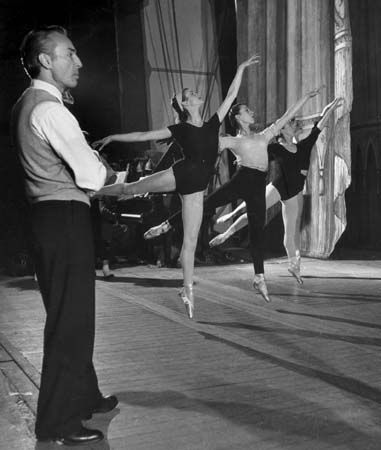 George Balanchine, choreographer
