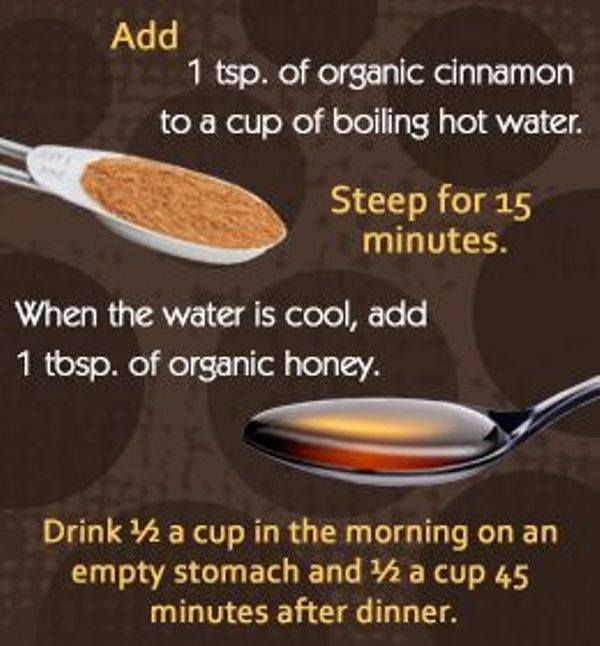 Honey and Cinnamon for Weight Loss + Detox - I need local raw honey for allergies anyway, so it can't hurt.