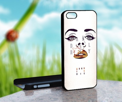 Lana Del Rey Art Born To Die - Print on Hard Cover For iPhone 5