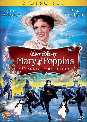 Mary Poppins (1964)- Julie Andrews, Dick Van Dyke, David Tomlinson