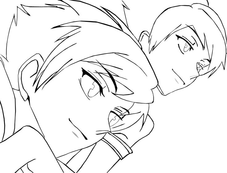 Anime Coloring Pages Anime Coloring
