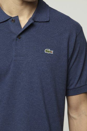 #Lacoste Short Sleeve #Classic Chine Pique Polo