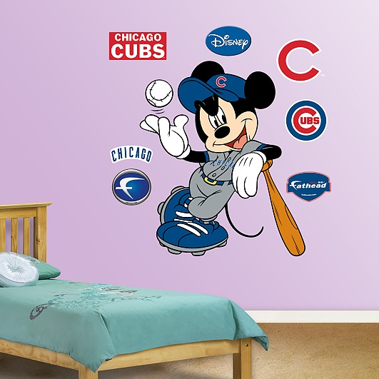 @Kristin :: Teal White Garden Hardt - thought you'd like this!! mix your 2 faves - Mickey & Cubbies!