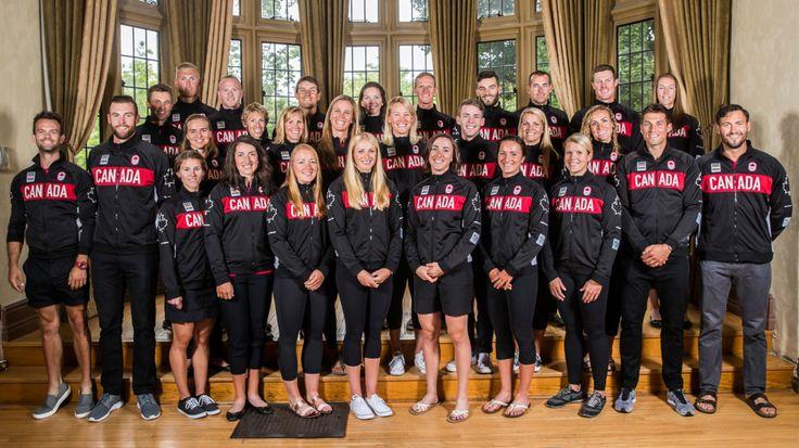 2016 Rio Olympic Rowing Team Members