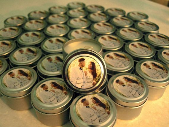 Wedding or Bridal Shower Favor Candles Travel by MDesignBoutique, $1.00