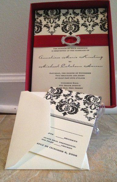 My Photo Album Wedding Invitations Photos on WeddingWirePhotos Album, Invitations Photos, Wedding'S Black, Classic Invitations, Chic Vintage, Vintage Wedding Invitations, Ivory Red And Black Wedding, Black Ivory, Wedding'S Someday