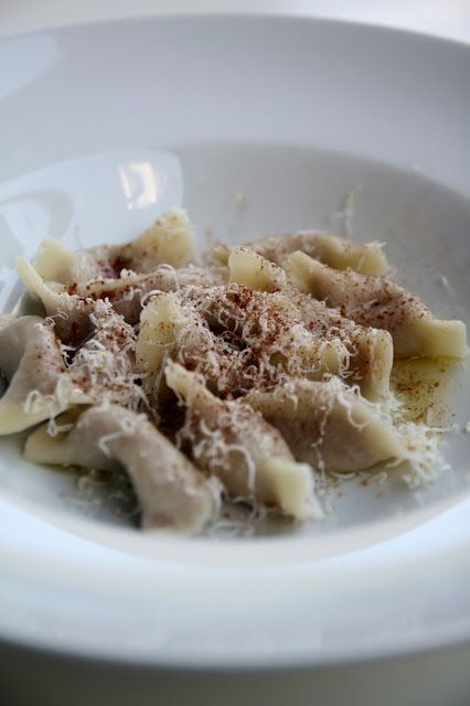 Cjarsons, a classic dish from the mountain of Carnia, FVG.  Explore the foods found in that area and more!  www.vinoesapori.it